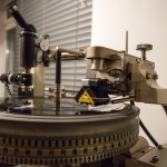 Vinyl Lathe Side