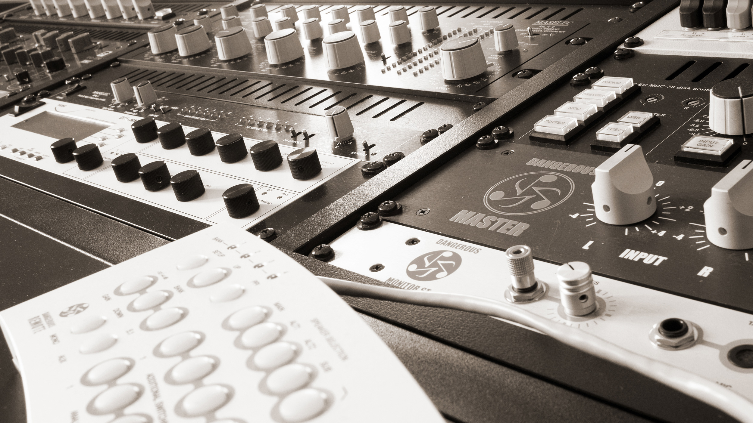 scape mastering studio foto